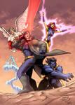 Uncanny X-Men COLORED