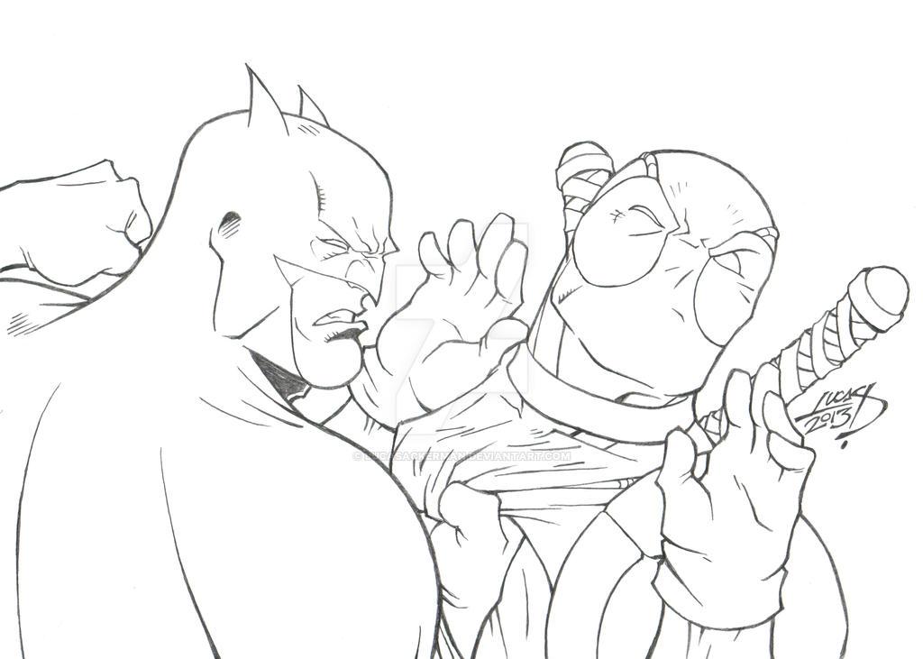 Batman VS Deadpool 2013 by LucasAckerman on DeviantArt