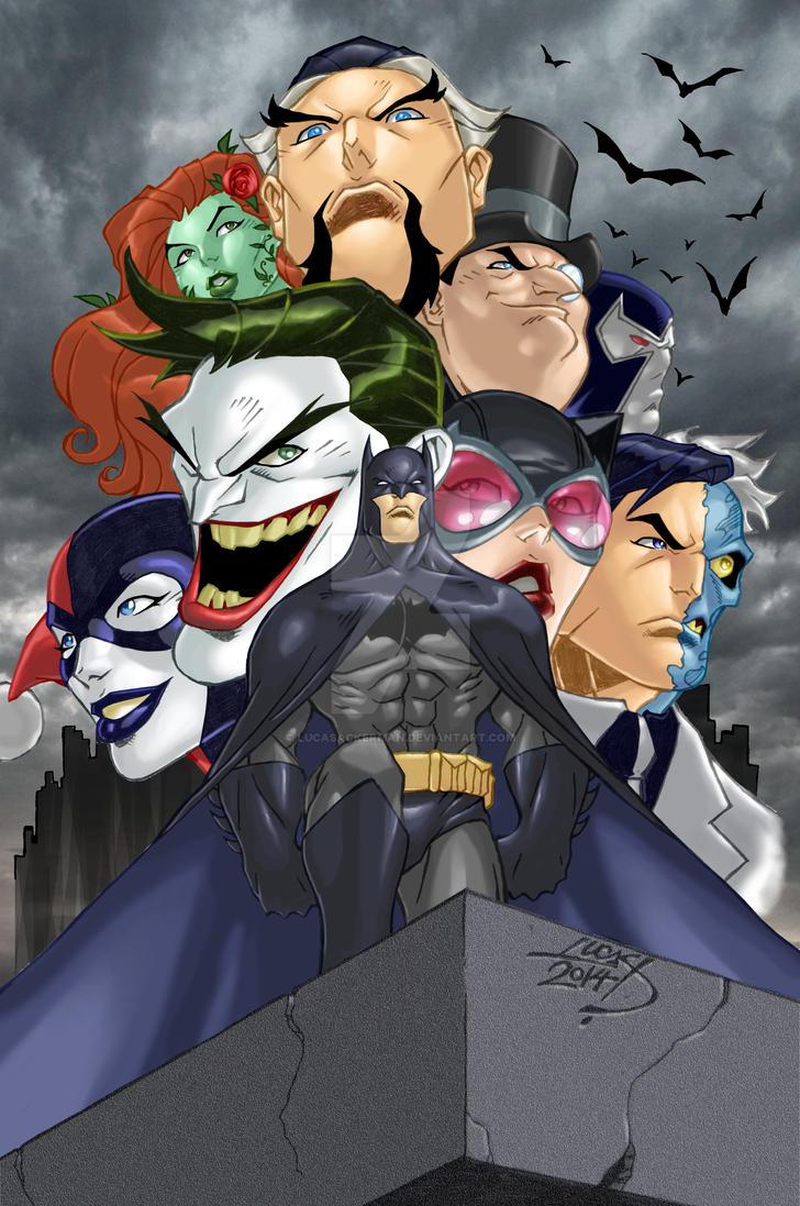 Batman 75 2014 COLORED by LucasAckerman