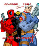 Lethal Weapons X Poster 2016