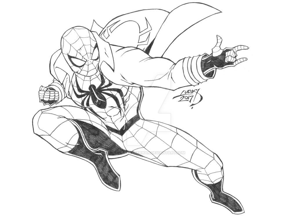 Spider-Man 2017 by LucasAckerman
