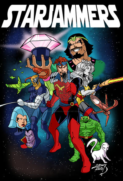 Starjammers 2018 COLORED by LucasAckerman