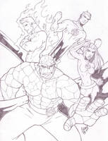 The Fantastic Four 05 by LucasAckerman