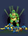 Leonardo vs Cyclops 2018 COLORED