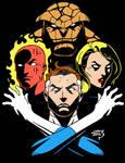 Fantastic Four Rhapsody 2018 COLORED 7-25