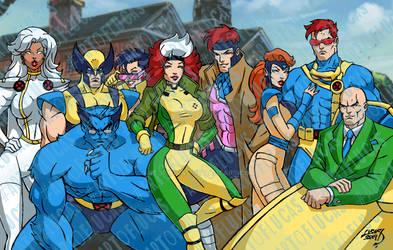 X-Men Squad Goals 2019 7-9 COLORED wm by artoflucas