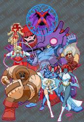 X-Men Villains collage 2020 wm by artoflucas