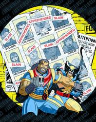 X-Men Days of Future Past Animated 2020 wm by artoflucas