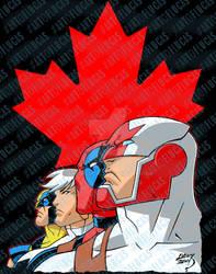 Captain Canuck and Team Canada 2020 6-30 by artoflucas