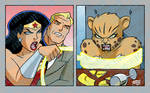 Wonder Woman Yelling at Cheetah 2020 7-25 COLORED