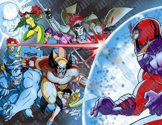 X-Men Blue 2020 8-9 COLORED wm by artoflucas