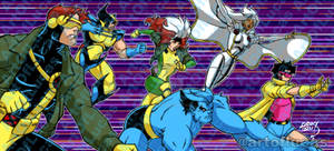 X-Men 92 Arcade 2021 1-12 COLORED pix wm