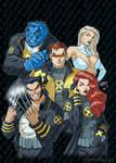 New X-Men #130 Cover Recreation 2021 wm by artoflucas