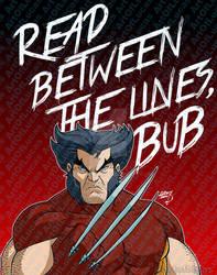 Wolverine Read Between the Lines 2021 5-25 wm by artoflucas