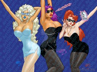 X-Men Charlie's Angels 2015-2021 COLORED wm by artoflucas