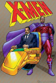 Martin Luther King Jr Malcom X as X-Men 2021 7-29