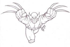 Wolverine EVOLUTION 07 by LucasAckerman