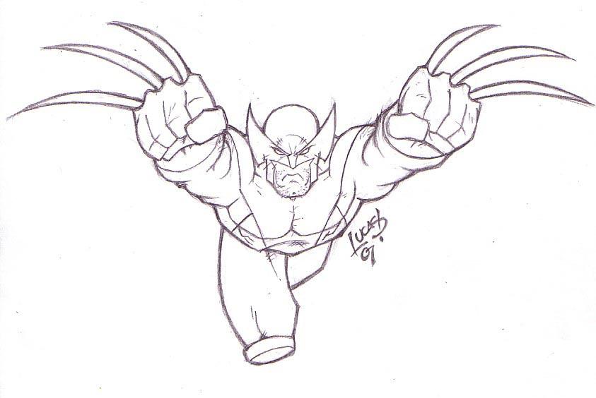 Wolverine EVOLUTION 07 by LucasAckerman on DeviantArt