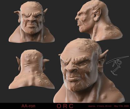 Orc head by Algae998