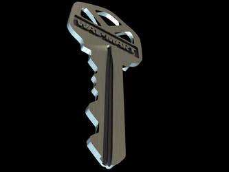 3D key by Algae998