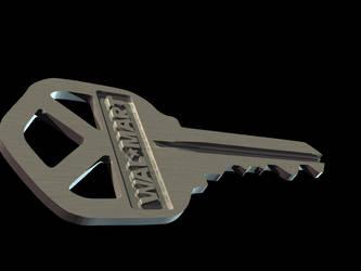3D Key 2 by Algae998