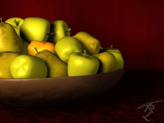 3D Fruit by Algae998