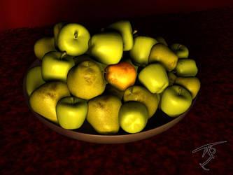 3D Fruit 2 by Algae998