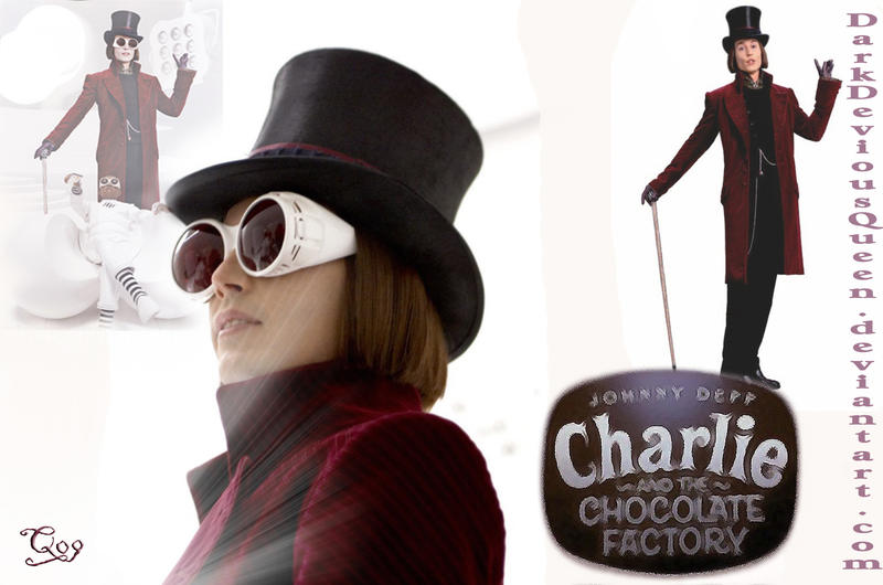 willy wonka wallpaper by queendevious on deviantart