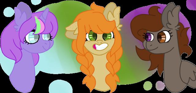 Three Best Friends by TheLostAngeI