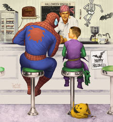 Rockwell Spiderman