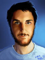 Quickie Self Portrait by lukeradl