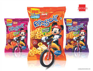 Euro Ringoli Snack Rings Design by jeevancreative