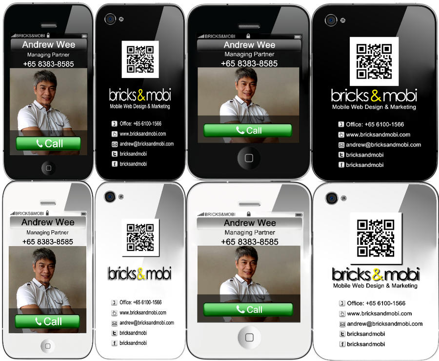 iPhone Business Card by Montasy on DeviantArt
