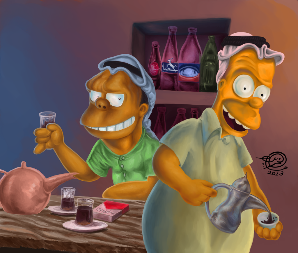 Homer by samialkhars