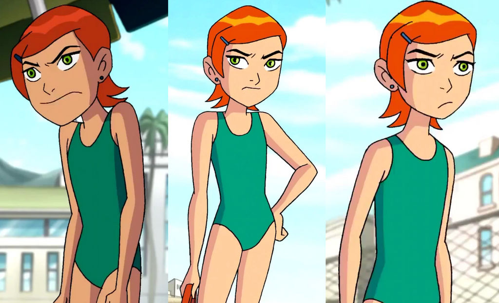 Gwen Tennyson Swimsuit 2 By Kingdomdeath23 On DeviantArt
