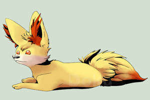 Fennekin by DokuPRODUCTIONS