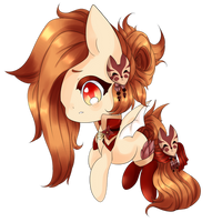 Fox Fire ~ { Commission } by Majo-Shoujo
