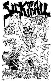 Sick of It All gig poster