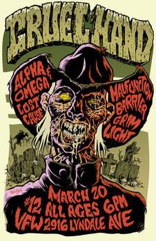 Cruel Hand postercolor web