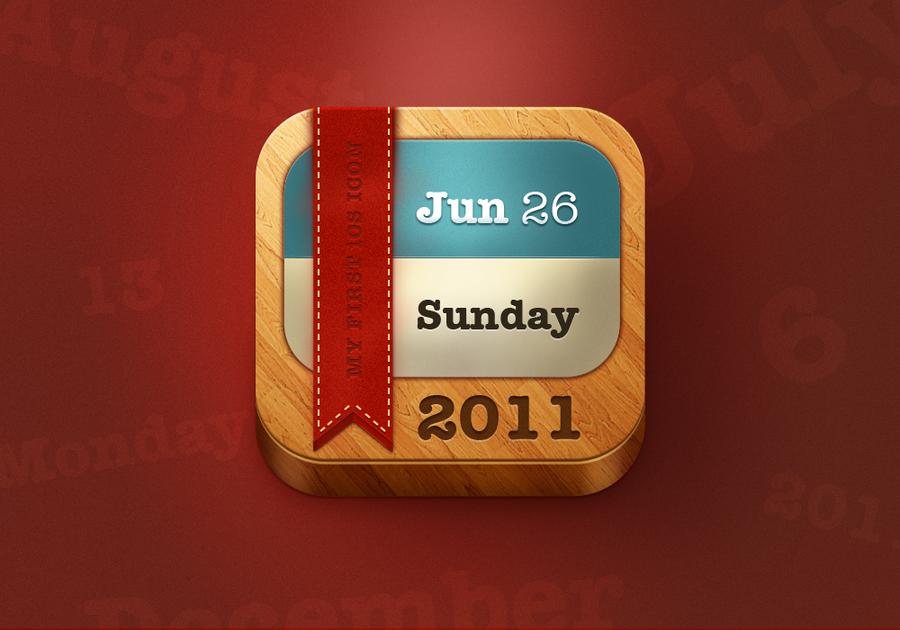 Calendar Icon by nsamoylov