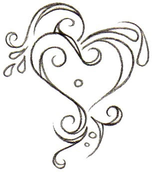 Heart Tattoo Designs Gallery 19