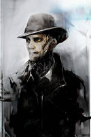 Nick Valentine - Fallout 4 by SiriCC