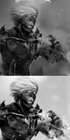 Raiden_Metal Gear Rising Revengeance