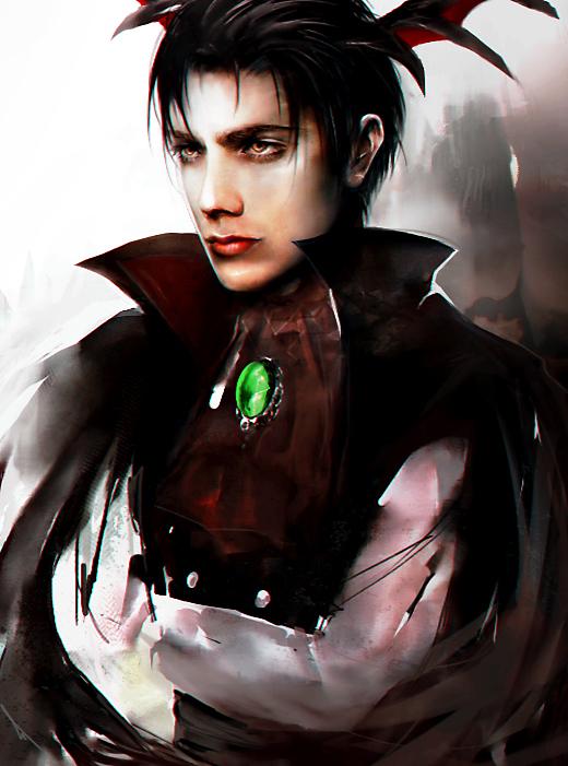 Vampire Levi Ackerman by SiriCC