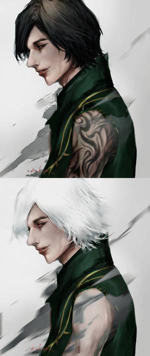 V _ Side face