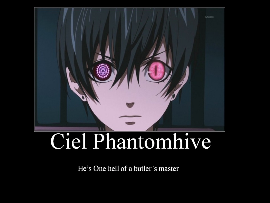 Ciel  Phantomhive by ouranhalfkewl