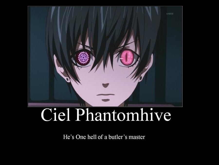 Ciel  Phantomhive by ouranhalfkewl