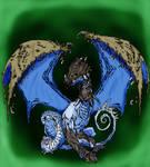 dragon (not my line art)