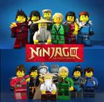 Ninjago 10th Anniversary Wallpaper