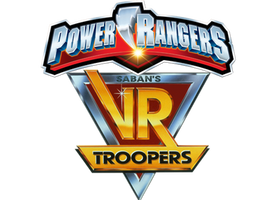 Power Rangers VR Troopers Logo V2